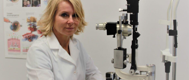 Agnieszka Siennicka - lekarz okulista